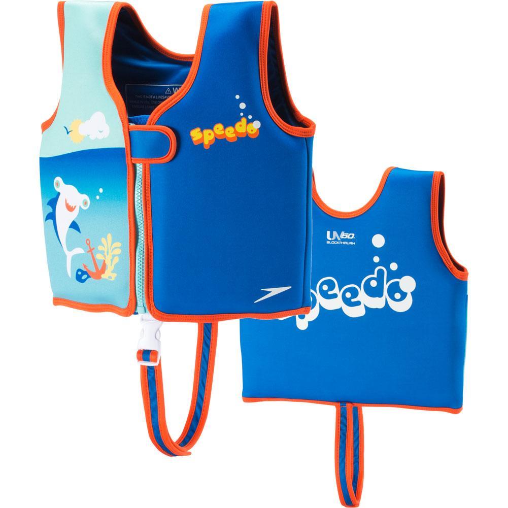 Speedo Begin To Swim Printed Neoprene Swim Vest Girls '