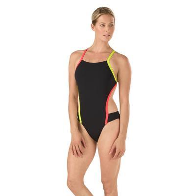 Speedo Vee 2 Colorblock One Piece Swimsuit Women's