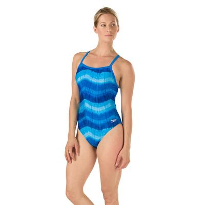 Speedo Bye Tie Dye Fly One Piece Swimsuit Women's