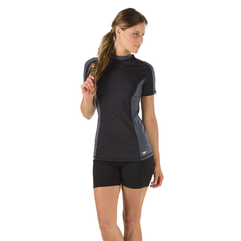 Speedo Short Sleeve Rashguard Women's