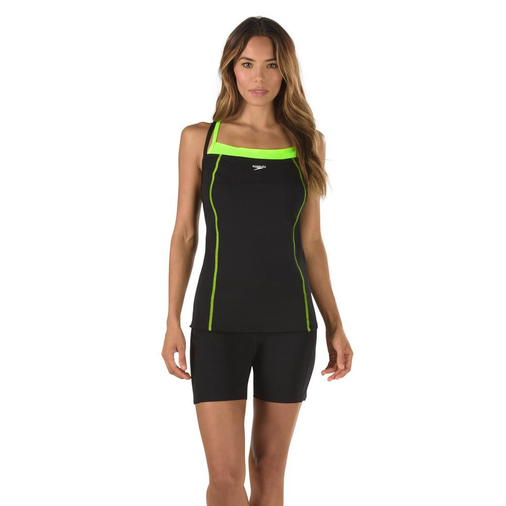 Speedo Double Strap Tankini Swim Top Women's