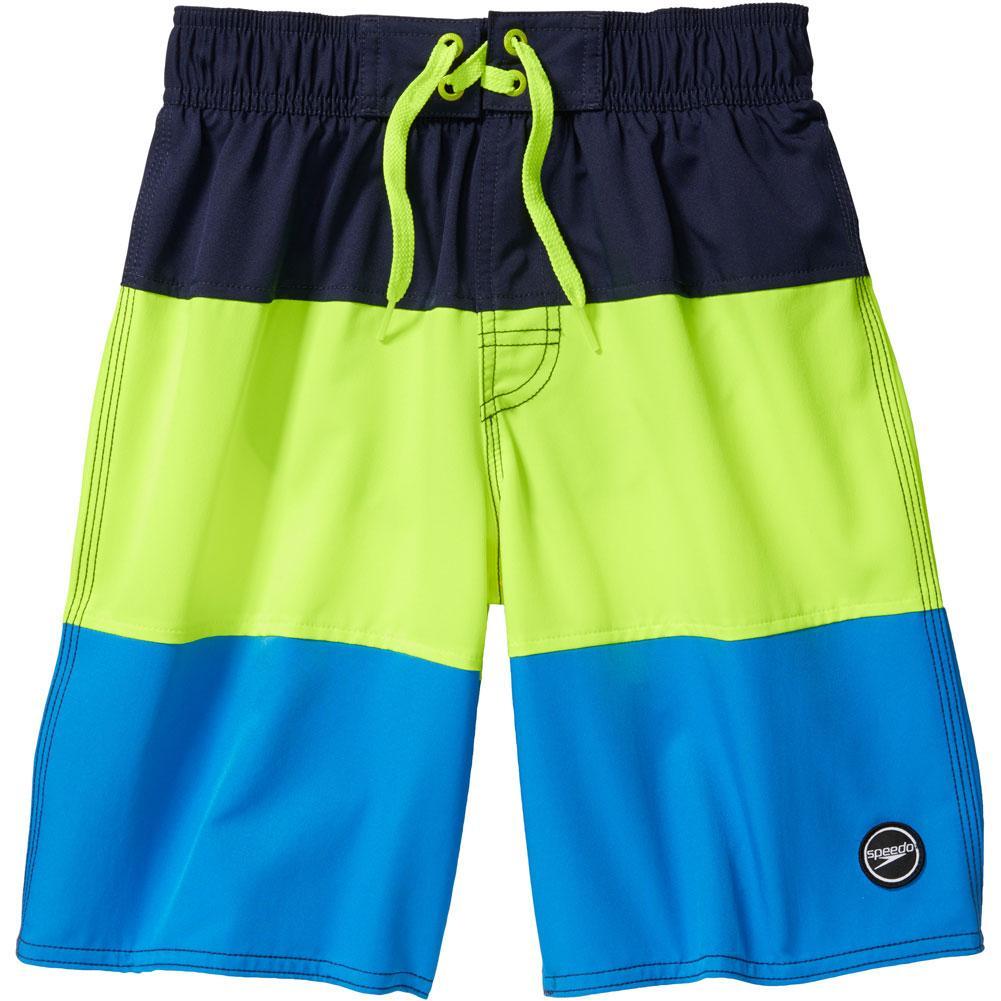 Speedo Solid Blocked Volley 18 Inch Board Shorts Boys '