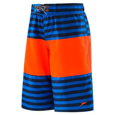 Speedo Stripe Blocked Volley Trunk Boys'