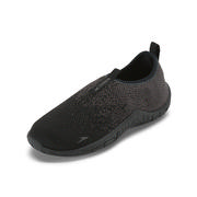 Speedo Surf Knit Water Shoes Kids' BLACK/DKGL GREY