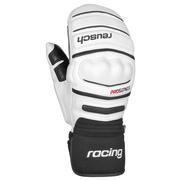 Reusch World Champ Racing Mittens White/Black