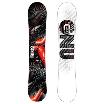 GNU Carbon Credit BTX Asymmetrical Snowboard Men's