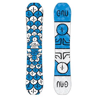 GNU Forest Bailey Headspace C3 Asymmetrical Snowboard Men's