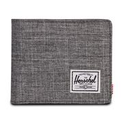 Herschel Hank Wallet RAVEN CROSSHATCH/BLACK