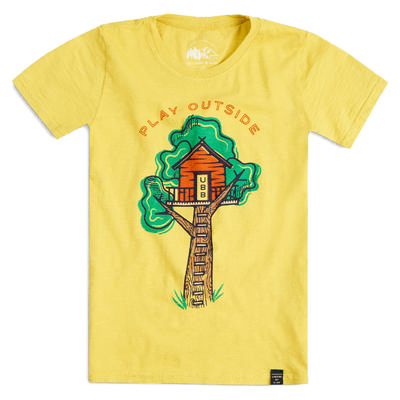 United By Blue Treehouse Short Sleeve Youth