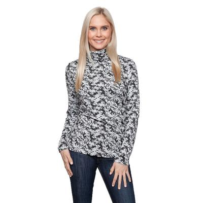 Sno Skins Sports Marble Jacquard Top Women's