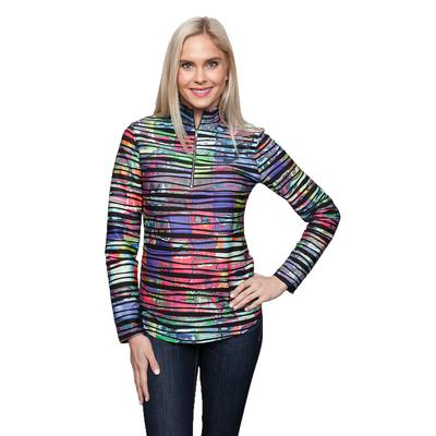 Sno Skins Twisted Prints-Zip Top Women's