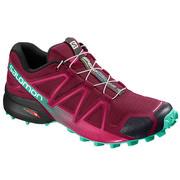 Salomon Speedcross 4 Trail Running Shoes Women's BEET RED/ELECTRIC GREEN/BLACK