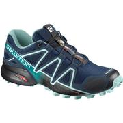 Salomon Speedcross 4 Trail Running Shoes Women's POSEIDON/EGGSHELL BLUE/BLACK