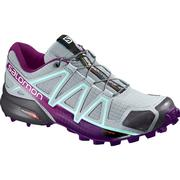 Salomon Speedcross 4 Trail Running Shoes Women's QUARRY/ACAI/FAIR AQUA