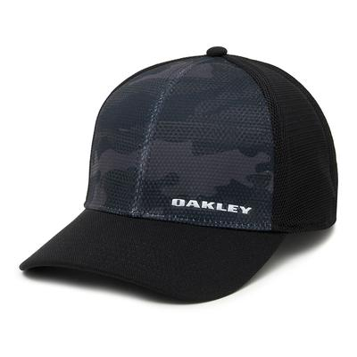 Oakley Silicon Bark Trucker Print 2.0 Hat Men's