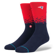 Stance Patriots Fade 2 Crew Socks Men's RED