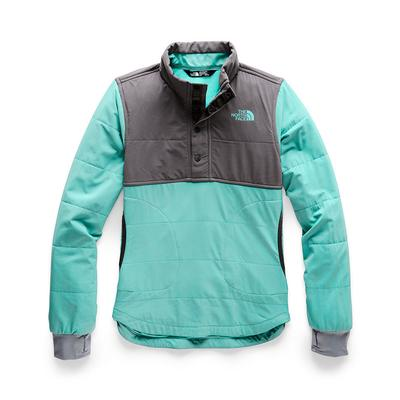 The North Face Mountain Sweatshirt 1/4 Snap Girls'