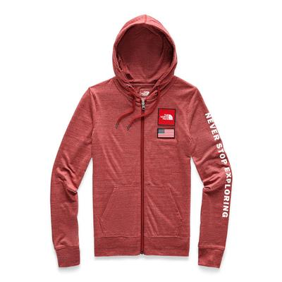 The North Face Americana Tri-Blend Full Zip Hoodie Women's