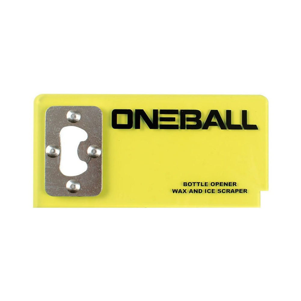 One Ball Jay Bottle Opener Scraper (2.5x6 Inches)