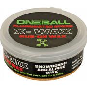 One-Ball X-Wax Rub On Snow Wax WHITE