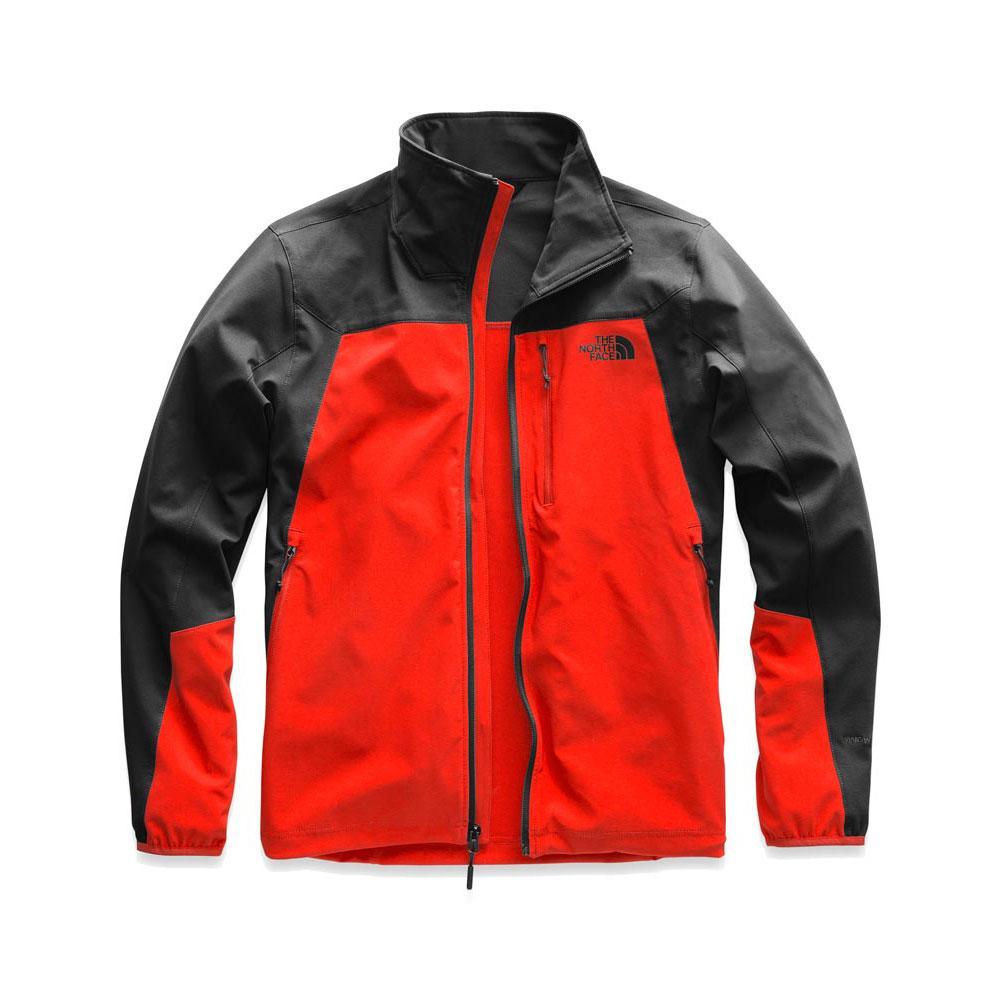 85645d6fbf93b The North Face Apex Nimble Jacket Men's FIERY RED/ASPHALT GREY ...