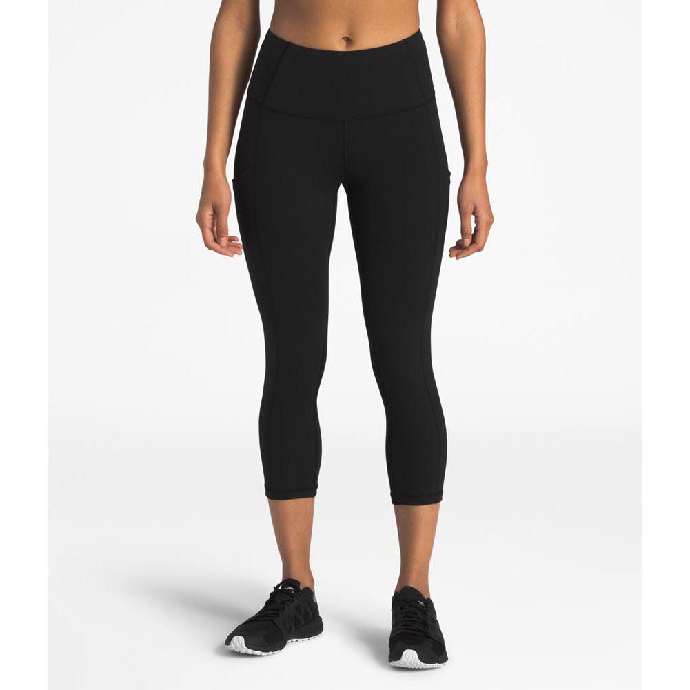 1fc5740837b3c The North Face Motivation High Rise Pocket Crop Leggings Women's TNF BLACK