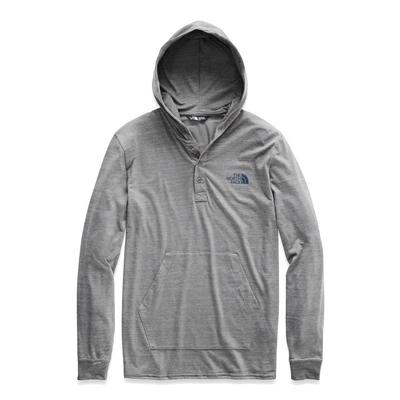 The North Face Tri-Blend Henley Hoodie Men's