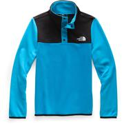 The North Face Glacier 1/4 Snap Fleece Girls' ACOUSTIC BLUE