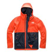The North Face Millerton Jacket Men's ZION ORANGE/URBAN NAVY