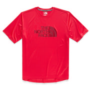 The North Face Short Sleeve Half Dome Reaxion Tee Men's TNF RED
