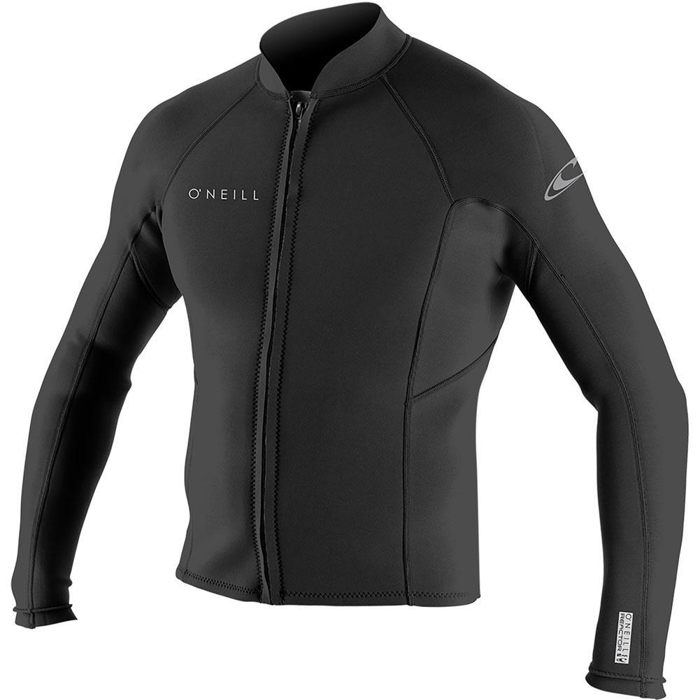 Oneill Reactor- 2 1.5mm Front Zip Long- Sleeve Wetsuit Jacket Men's