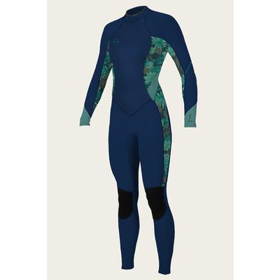 O`Neill Bahia 3/2 Back Zip Full Wetsuit Women's