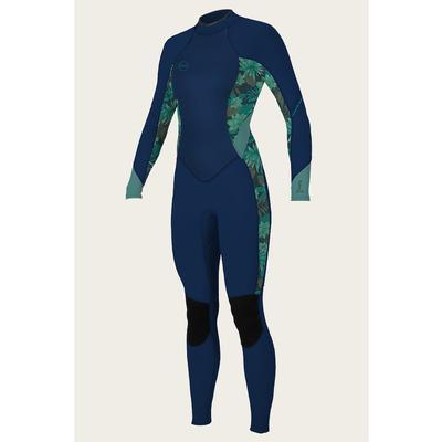 O`Neill Bahia 3/2 Back Zip Full Wetsuit Women's
