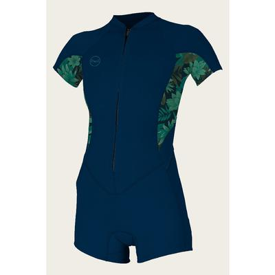 O`Neill Bahia 2/1 Front Zip Short Sleeve Spring Wetsuit Women's