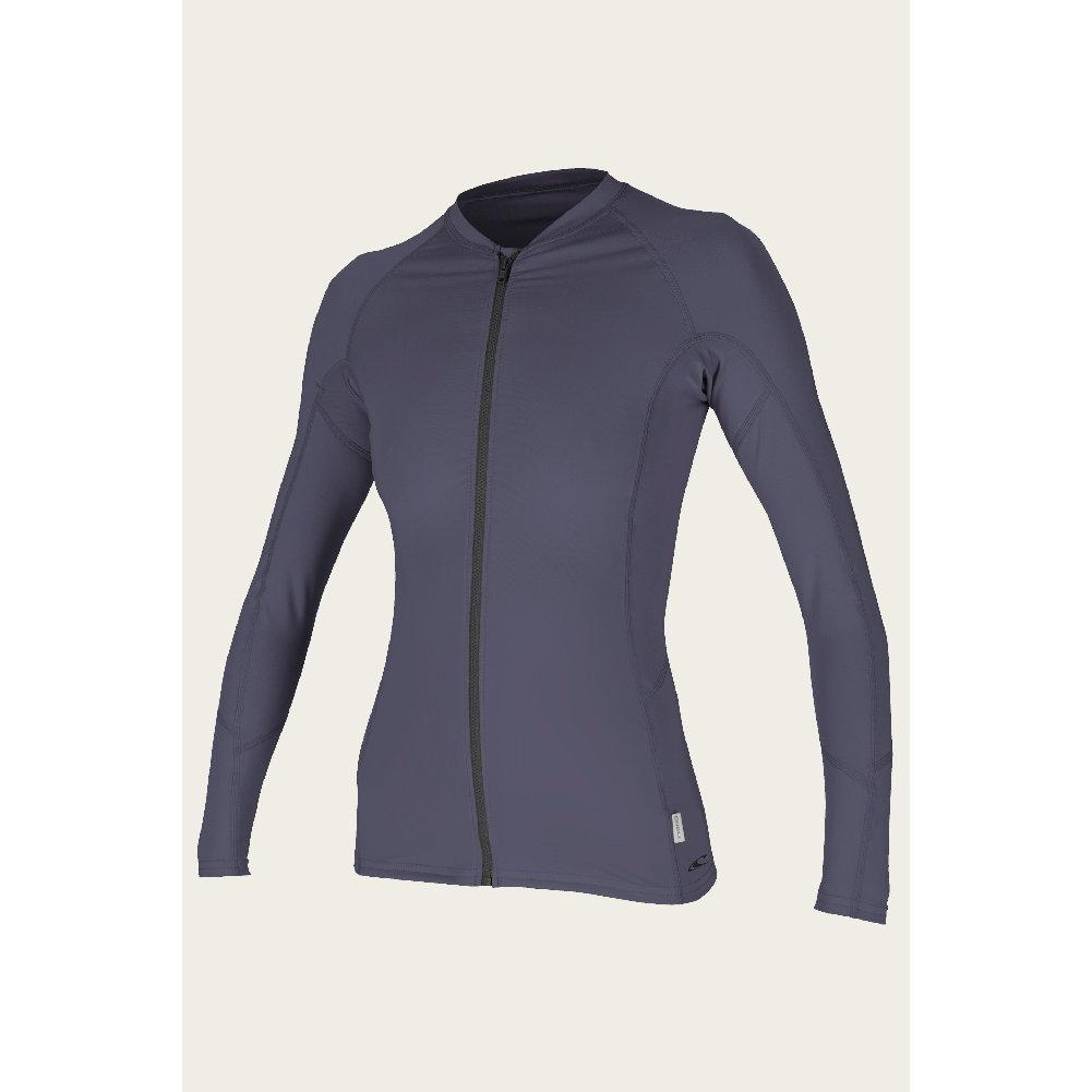 O ` Neill Front- Zip Long Sleeve Sun Shirt Women's
