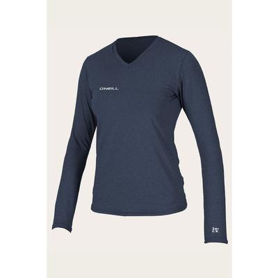 O`Neill Hybrid Long Sleeve V-Neck Sun Shirt Women's