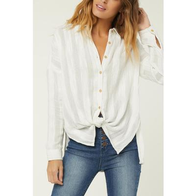 O'Neill Aria Woven Button Down Top Women's