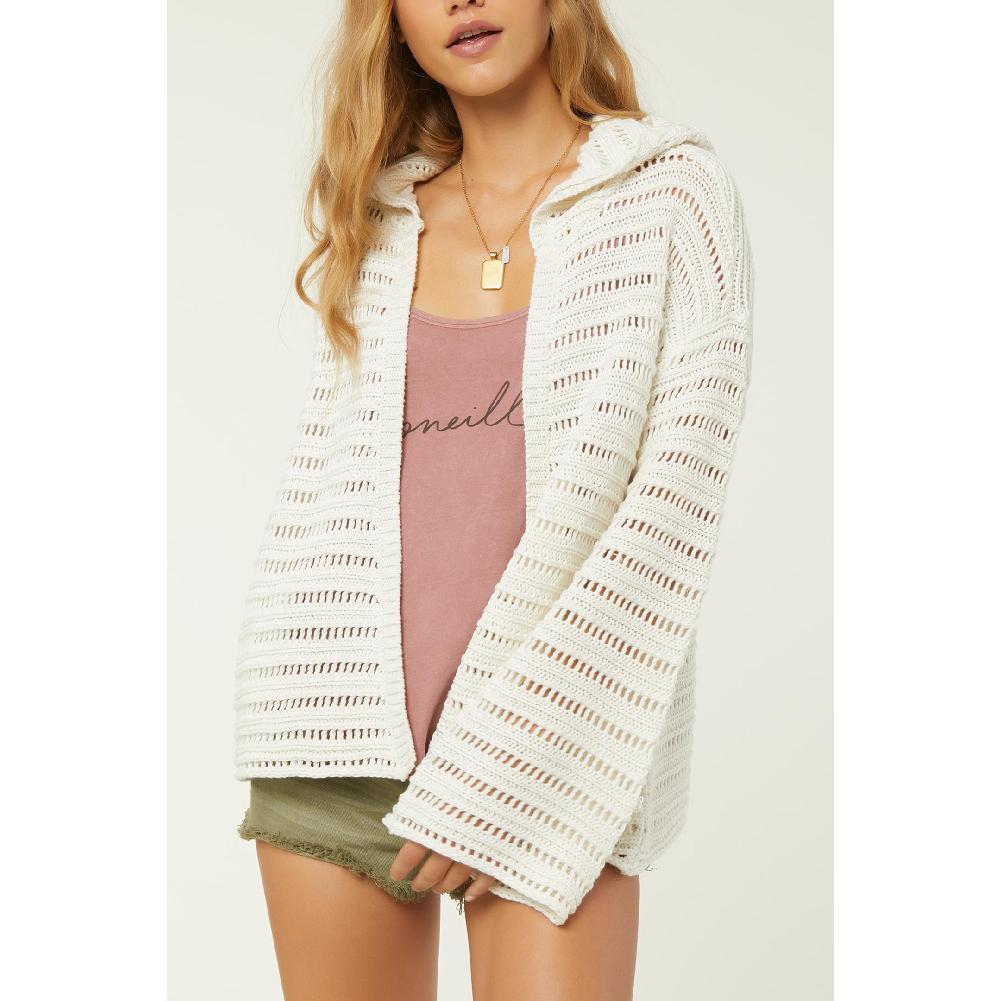 O ' Neill Coastline Hooded Cardigan Sweater Women's