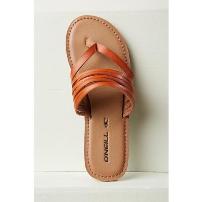 O'Neill Pasadena Leather Flip Flops Women's