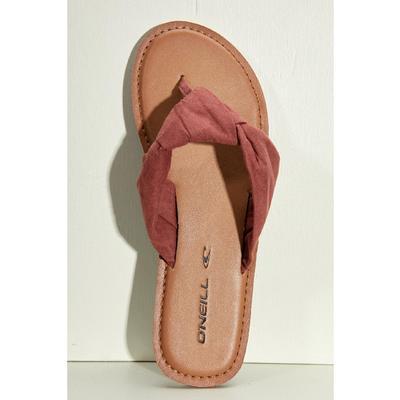 O'Neill Isla Vista Leather Flip Flops Women's