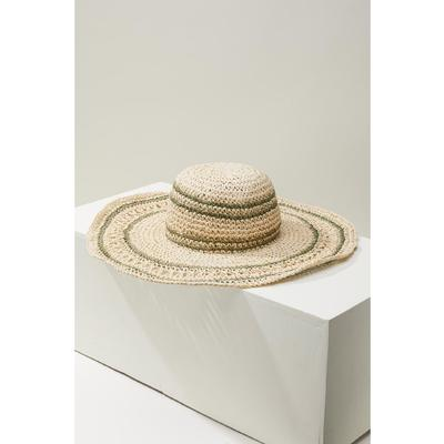O'Neill Del Mar Straw Floppy Sun Hat Women's