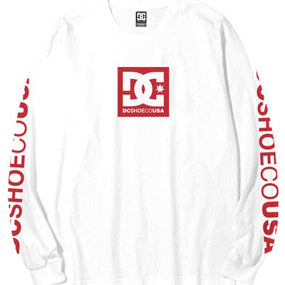 DC Shoes Square Star Long Sleeve Tee Men's