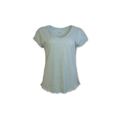 Purnell Heathered Purl Stitch Tee Women's