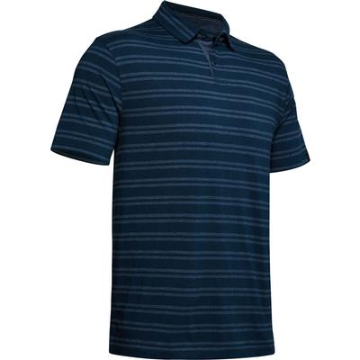 Under Armour Charged Cotton Scramble Stripe Polo Shirt Men's