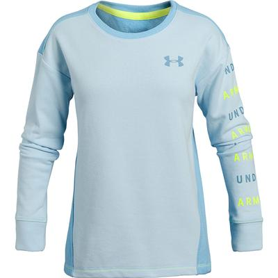 Under Armour Rival Terry Crew Girls'