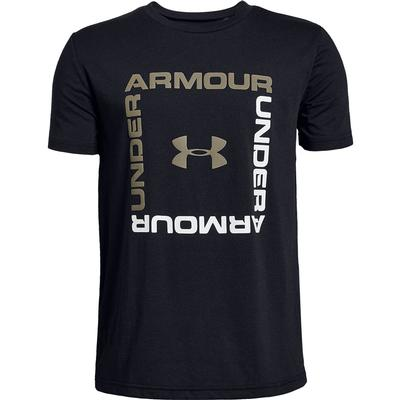 Under Armour Box Logo Short Sleeve T-Shirt Boys'
