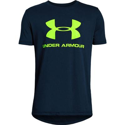 Under Armour Sportstyle Logo Short Sleeve T-Shirt Boys'