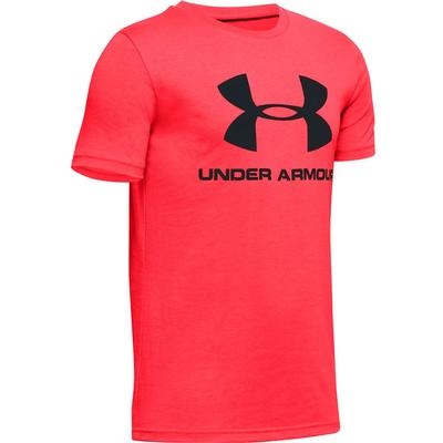Under Armour Sportstyle Logo Short Sleeve Crew T-Shirt Boys'