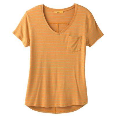 Prana Foundation Short Sleeve V-Neck Shirt Women's