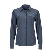 Marmot Annika Long Sleeve Shirt Women's Dark Steel
